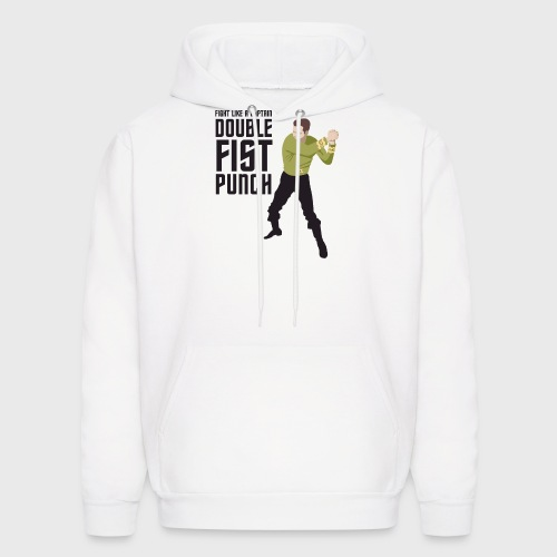 Captain Kirk Double Fist Punch - Men's Hoodie