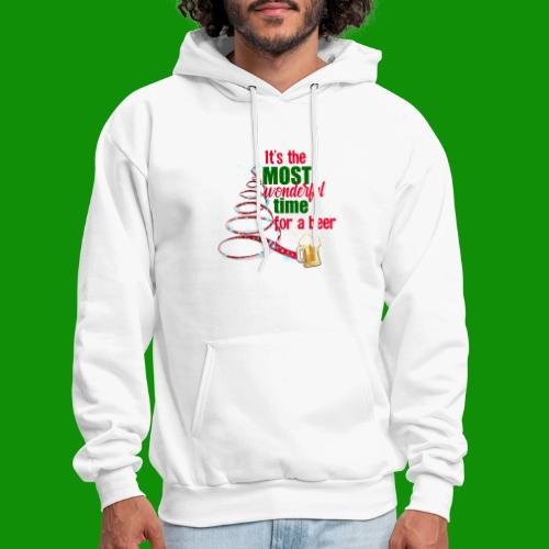 Most Wonderful Time For A Beer - Men's Hoodie