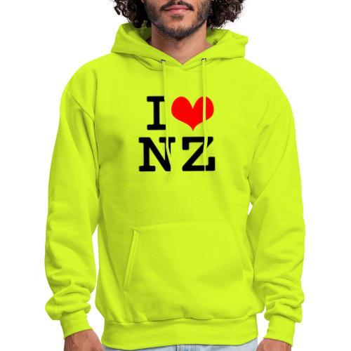 I Love NZ - Men's Hoodie