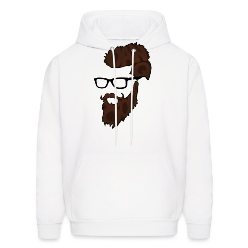 DanQ8000 Beard Logo 2017 - Men's Hoodie
