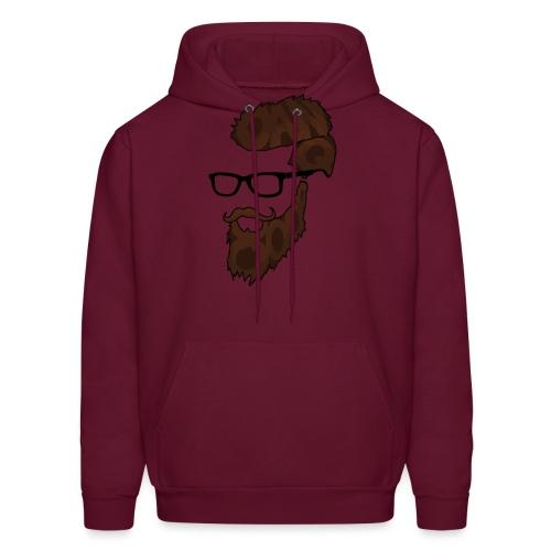 DanQ8000 Beard Logo 2017 - Men's Hoodie