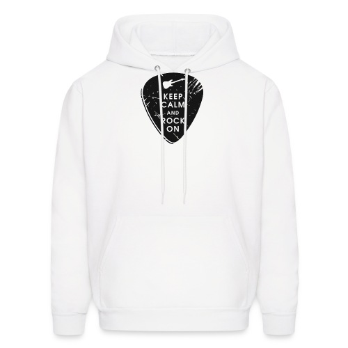 Keep calm and rock on - Men's Hoodie