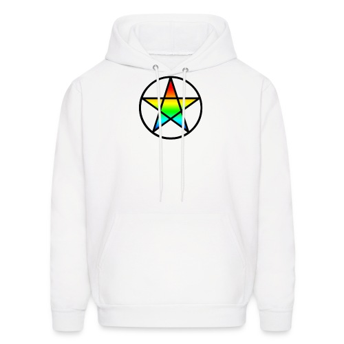 Official Iridescent Tee-Shirt // Men's // White - Men's Hoodie