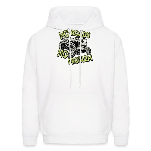 Jeep No Roads No Problem - Men's Hoodie
