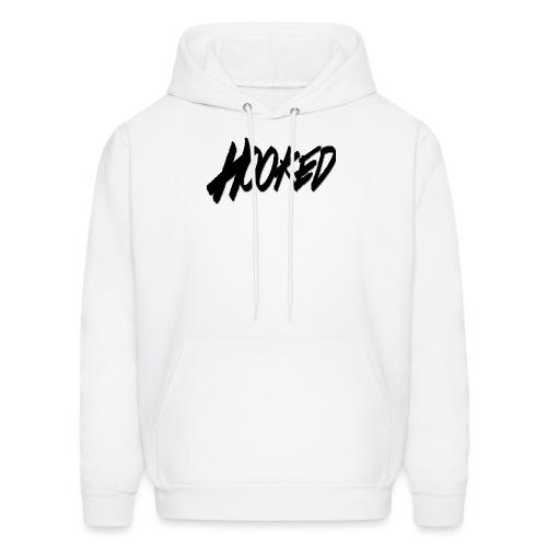 Hooked black logo - Men's Hoodie