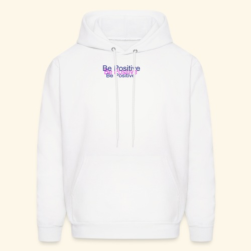 BePositive2color - Men's Hoodie