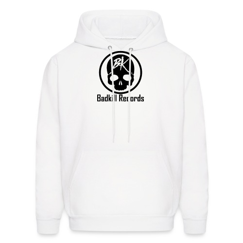 LOGO Transparent BLACK - Men's Hoodie