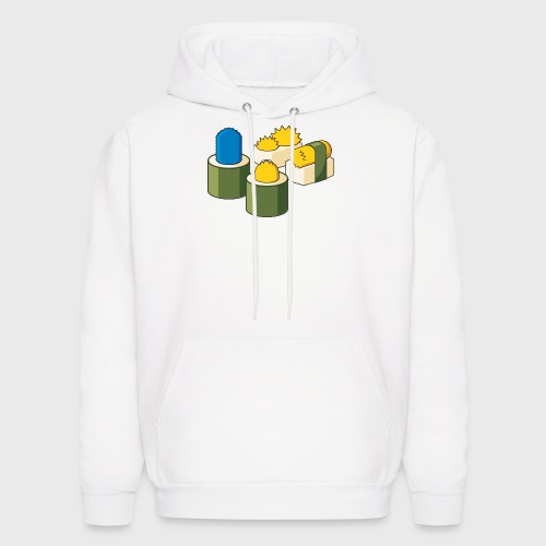 The Simpsons Sushi - Men's Hoodie