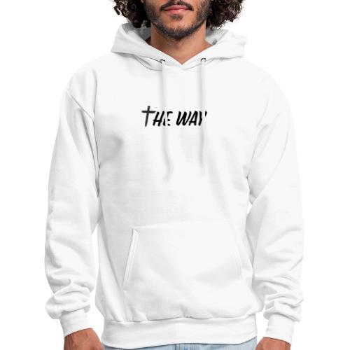 TheWay cross logo - Men's Hoodie