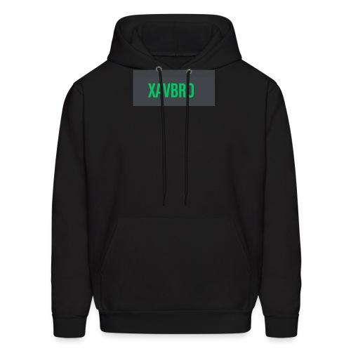 xavbro green logo - Men's Hoodie