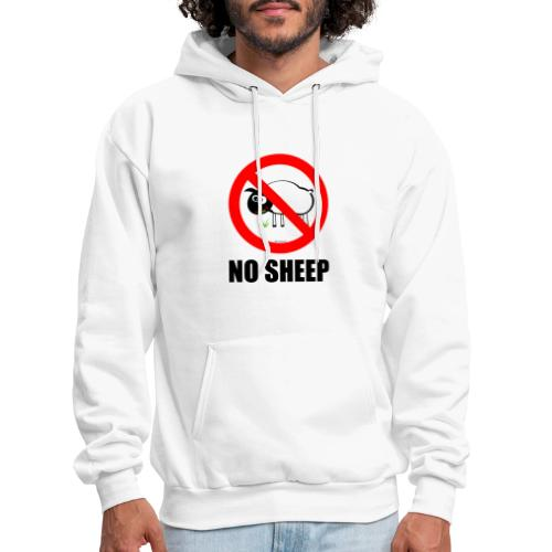 NO SHEEP™ TEE - Men's Hoodie