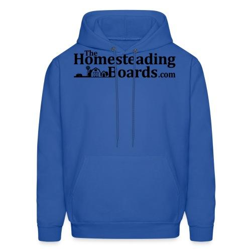 THB Black Logo BW 01 png - Men's Hoodie