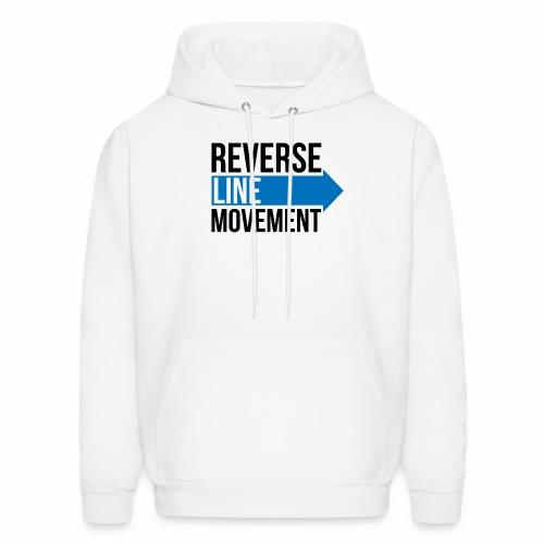 Reverse Line Movement - Men's Hoodie