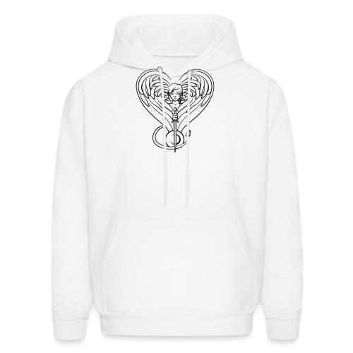 Sphinx valentine - Men's Hoodie