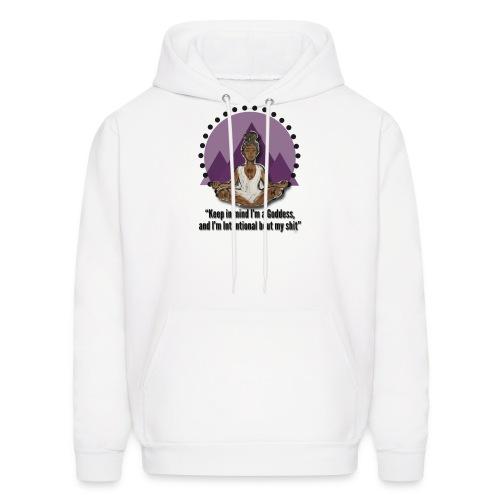 Meditating Goddess - Men's Hoodie