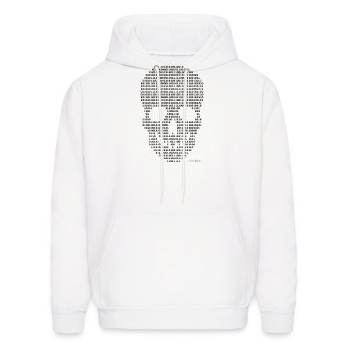 Hacker binary - Mens - Men's Hoodie