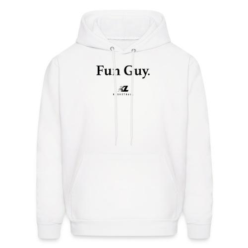 Fun Guy White - KL Basketball Shirt - Men's Hoodie