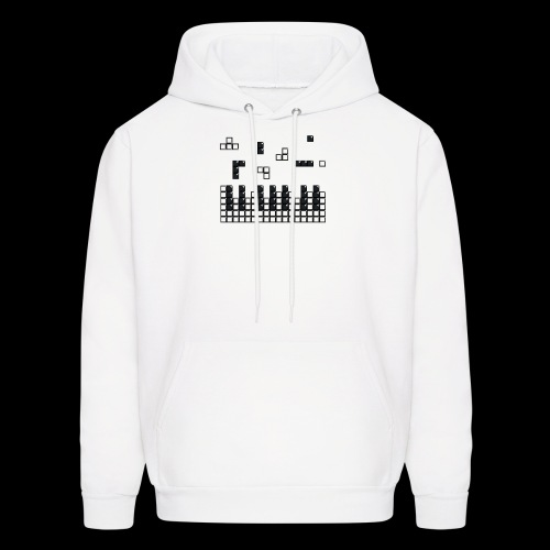 Hit the Brick Piano Keys - Men's Hoodie