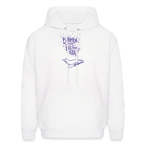 bitumen don't kill my vibe - navy - Men's Hoodie