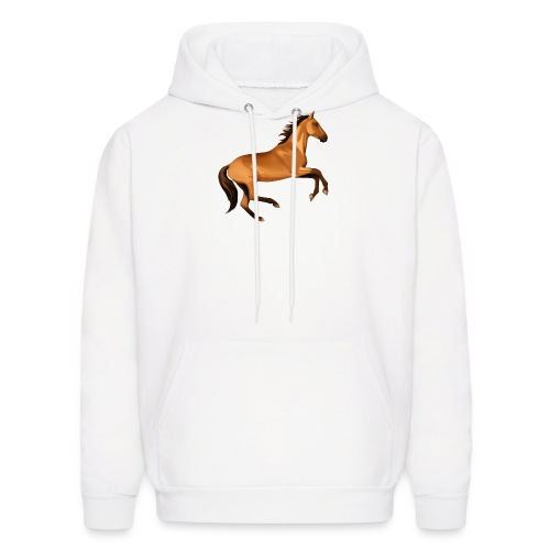 horse riding - Men's Hoodie