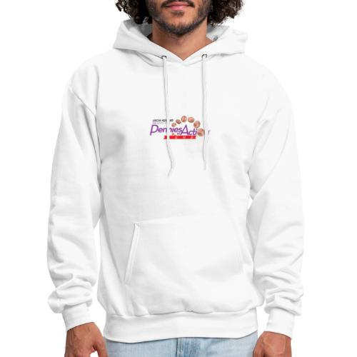 Pennies In Action Logo - Men's Hoodie