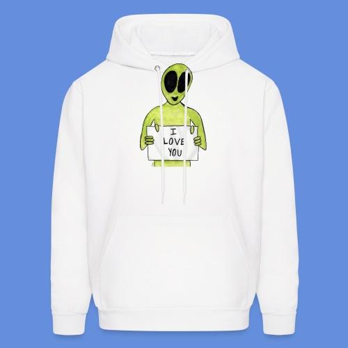 I love you Alien - Men's Hoodie
