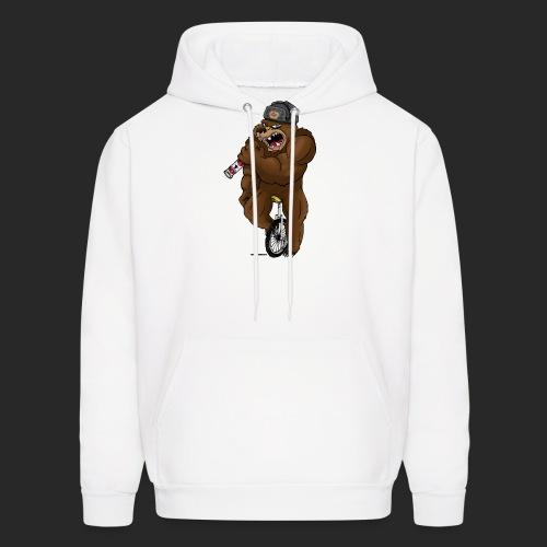 Russian Bear - Men's Hoodie