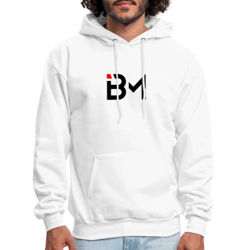 bench mob logo no lettering (black) - Men's Hoodie