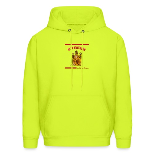 CANCER RED - Men's Hoodie