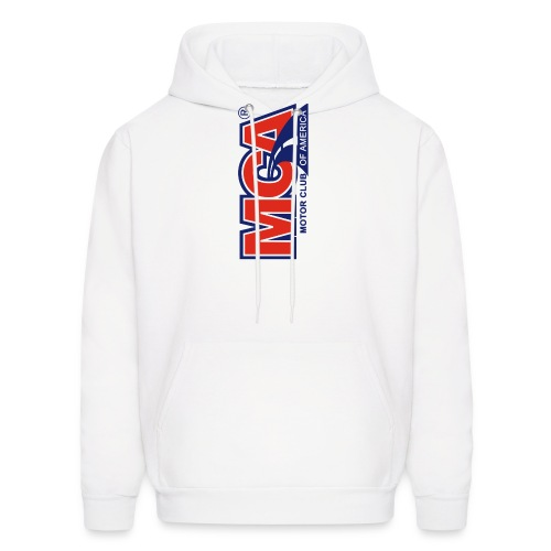 MCA Logo Iphone png - Men's Hoodie