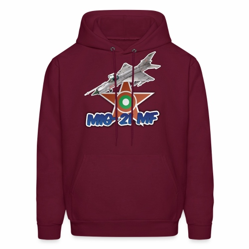 Bulgarian Air Force Mig-21 MF Jet Fighter - Men's Hoodie