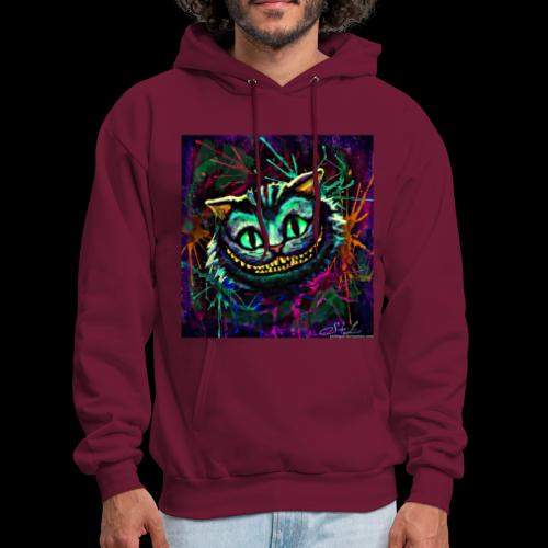 the cheshire cat by ex0tique - Men's Hoodie