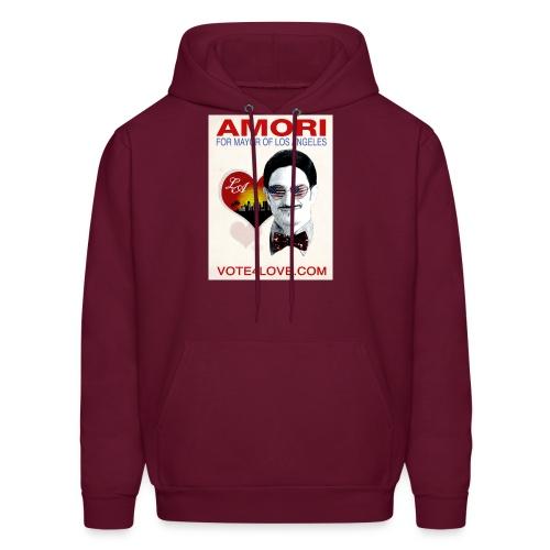 Amori for Mayor of Los Angeles eco friendly shirt - Men's Hoodie