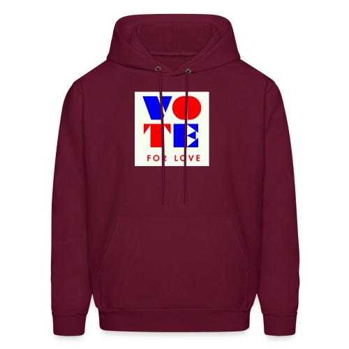 vote4love-sample - Men's Hoodie