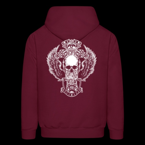 Awesome Motorcycle Cool Biker Gift T-Shirts - Men's Hoodie