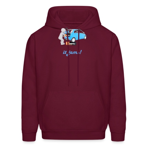 Limited Edition! E-car   Technic Style - Men's Hoodie