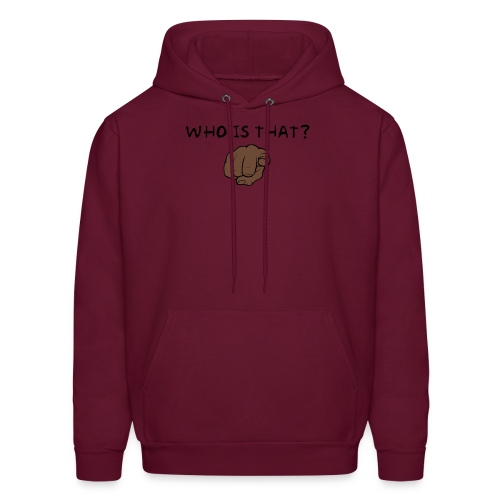 Who is that - Men's Hoodie
