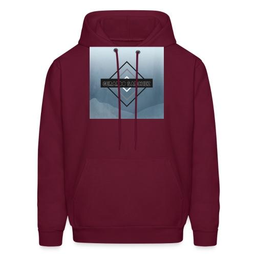 Rhombus Design - Men's Hoodie
