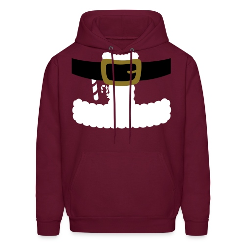 SANTA CLAUS SUIT - Men's Polo Shirt - Men's Hoodie