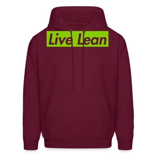 Live Lean Hoodie - Men's Hoodie