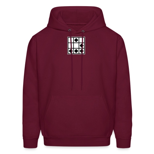 The Hacker Emblem - Men's Hoodie