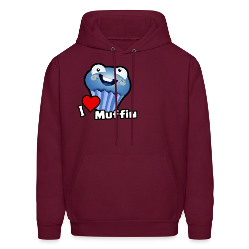 I Love Muffin - Men's Hoodie