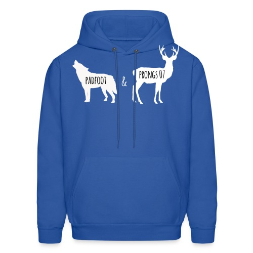 Padfoot&Prongs07 White - Men's Hoodie