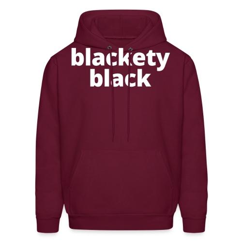 Women's Blackety Black Hoodie - Men's Hoodie