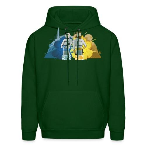 sipssjin shirt400dpi - Men's Hoodie