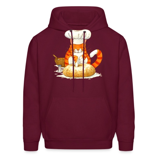 Chef Cat by Rachael B - Men's Hoodie