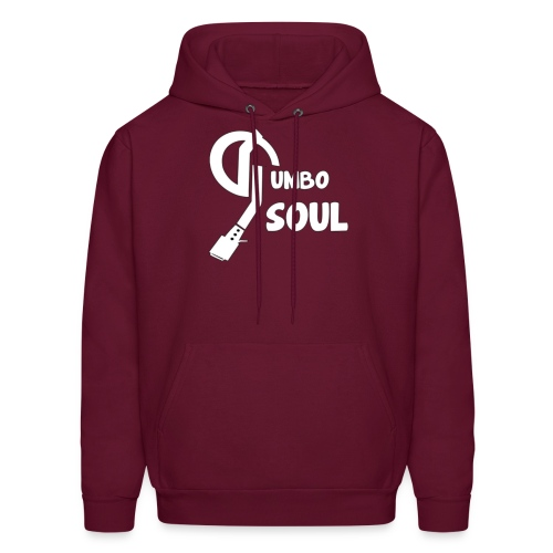 gumbo soul trans white 1 4000x4000 png - Men's Hoodie