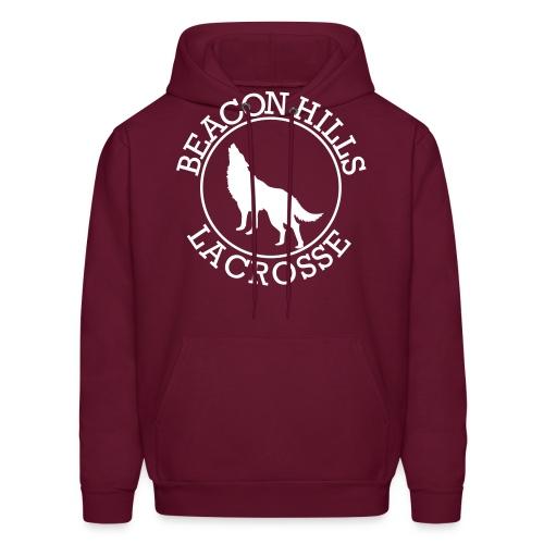 BEACONS HILL LACROSSE Logo - Men's Hoodie