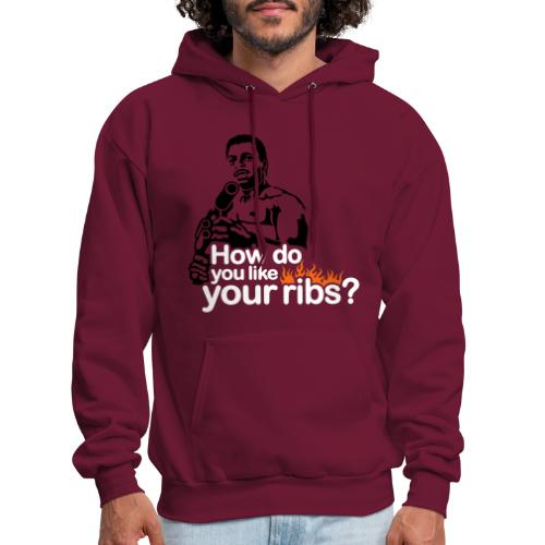 How do you like your ribs? - Men's Hoodie