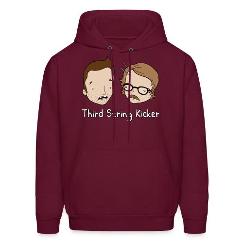 Third String Kicker Logo - Men's Hoodie